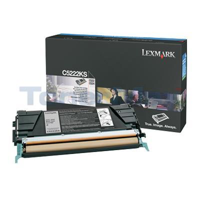 LEXMARK C524 TONER CARTRIDGE BLACK 4K